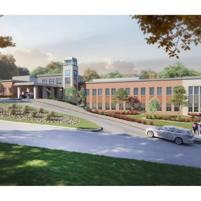 Marimont High School Renovation Rendering