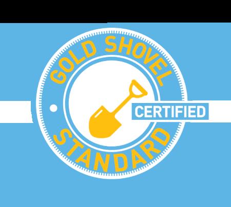 Gold Shovel Standard Certified Logo